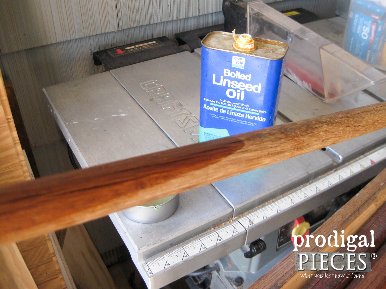 Boiled Linseed Oil to Refresh Old Wood | Prodigal Pieces | www.prodigalpieces.com