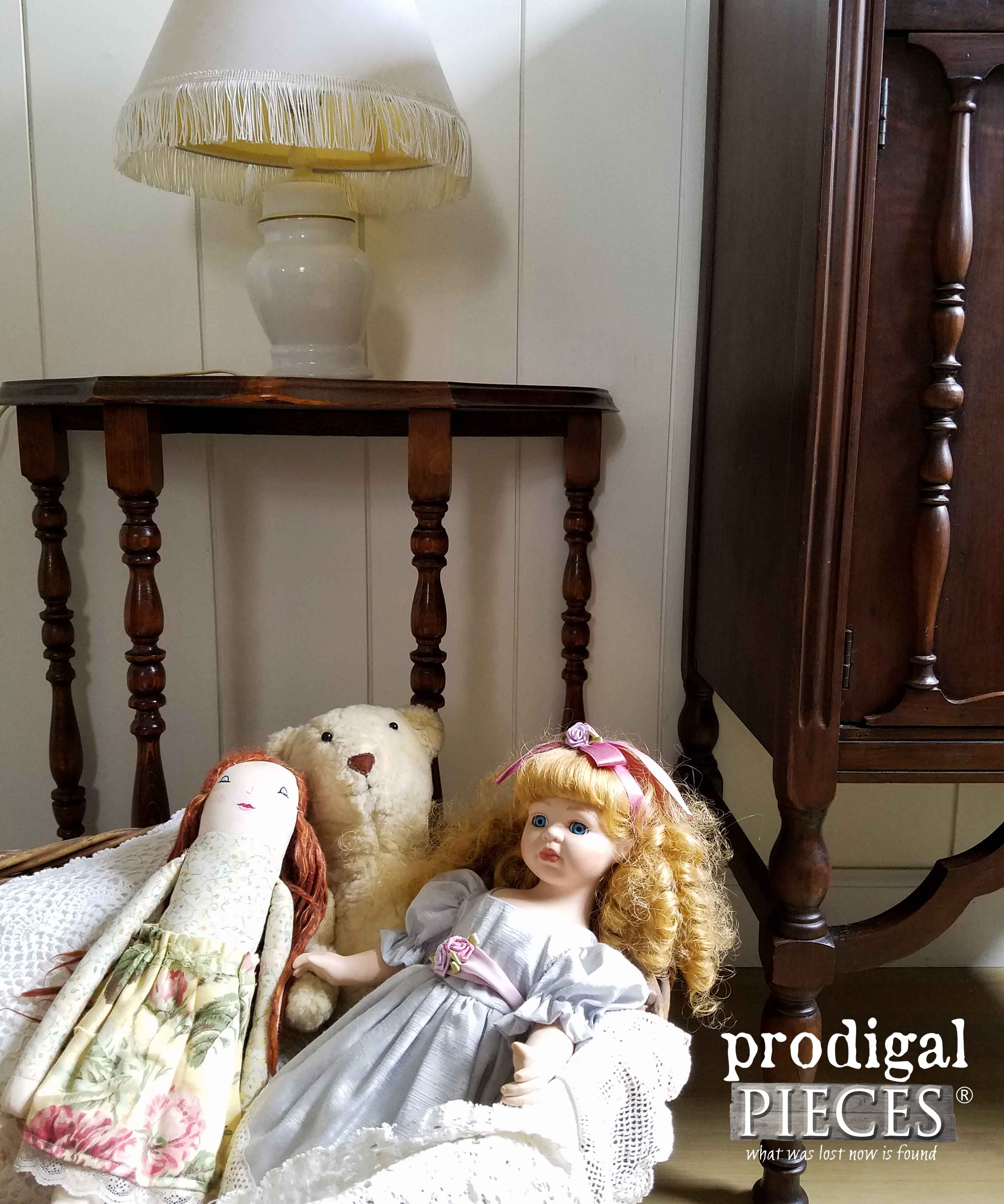 Vintage Doll Basket | Prodigal Pieces | www.prodigalpieces.com