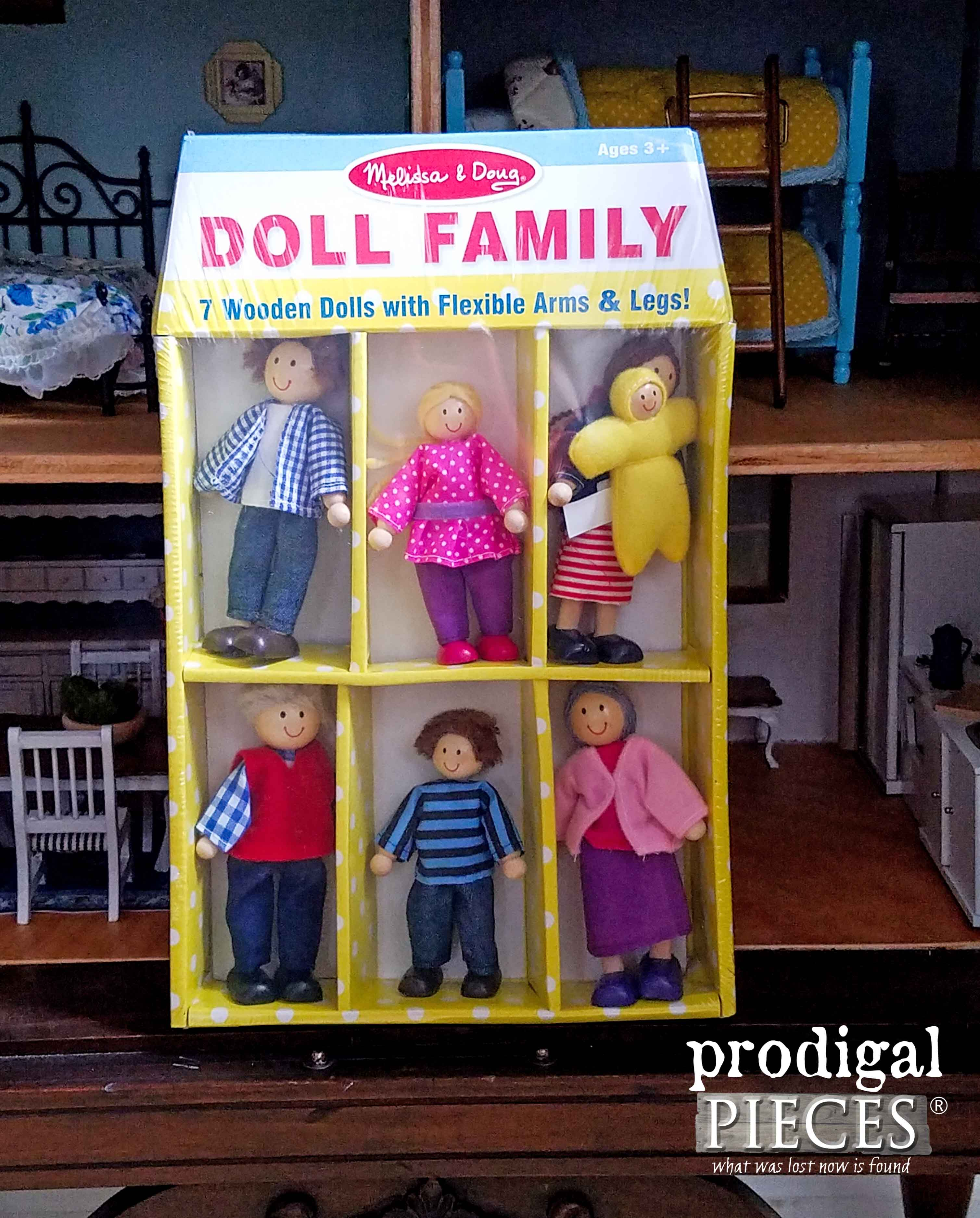 Melissa & Doug Wooden Dollhouse Family | Prodigal Pieces | www.prodigalpieces.com