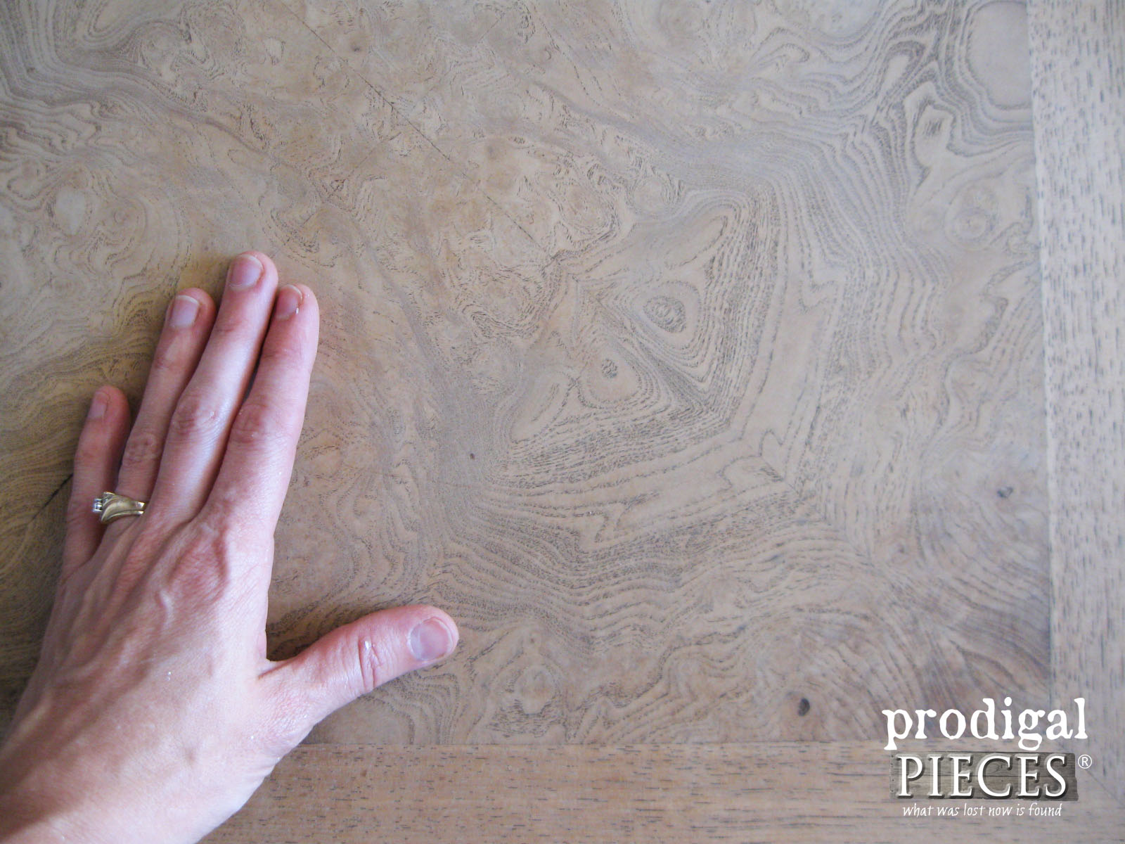 Sanded Walnut Table Top | Prodigal Pieces | prodigalpieces.com