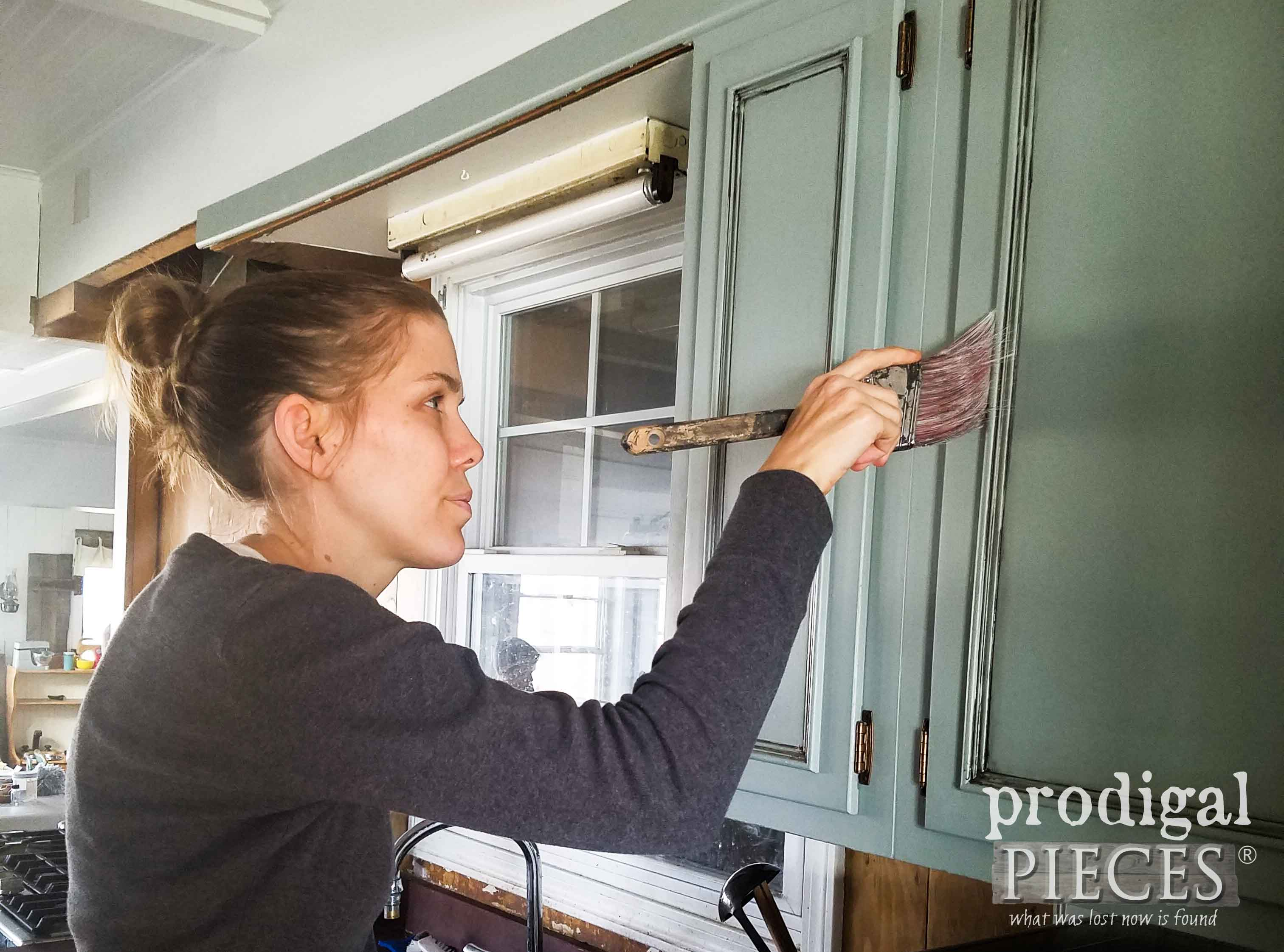 Painting Kitchen Cabinets | Prodigal Pieces | prodigalpieces.com