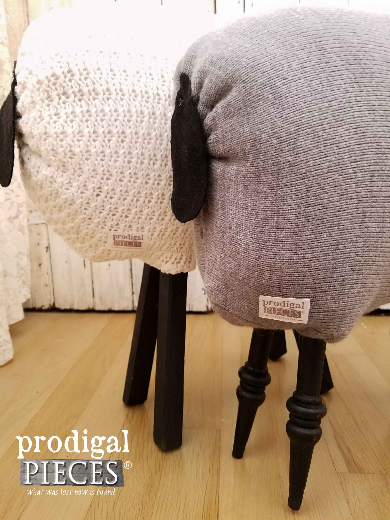 Prodigal Pieces Handmade Sheep | prodigalpieces.com