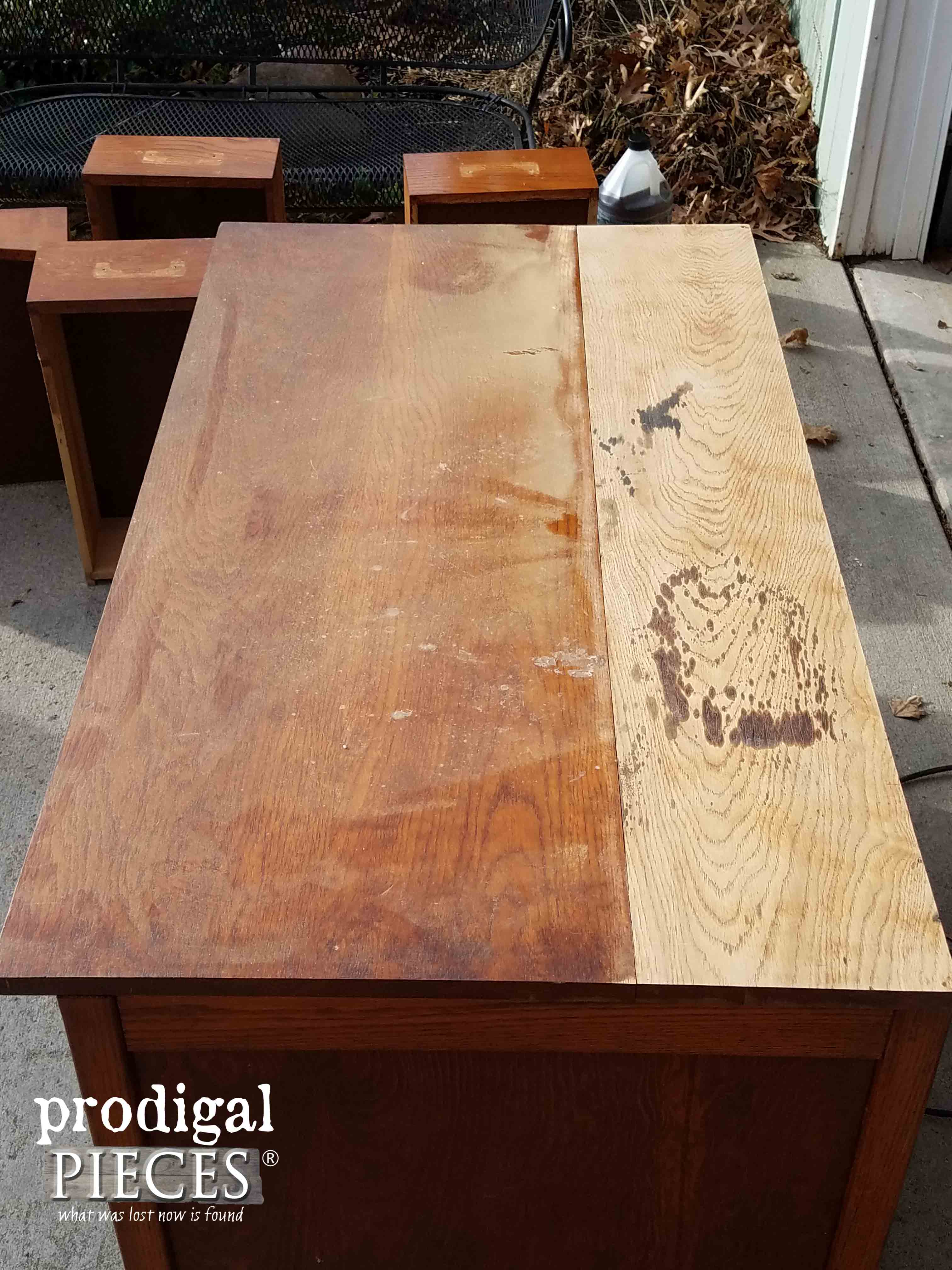Sanded Desk Top | Prodigal Pieces | prodigalpieces.com