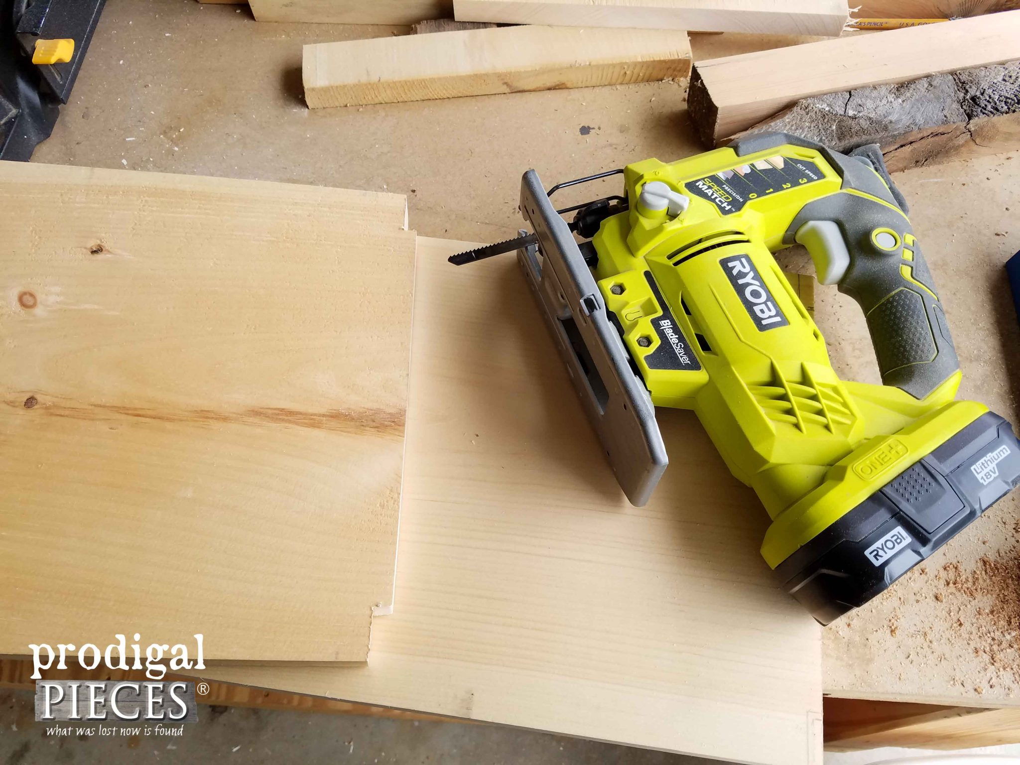 Notching Shelving for Kitchen Island Cart | Prodigal Pieces | prodigalpieces.com