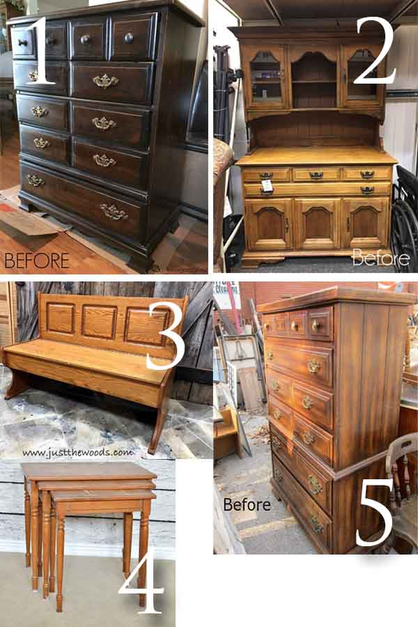 February Furniture Fixer Uppers | Prodigal Pieces | prodigalpieces.com
