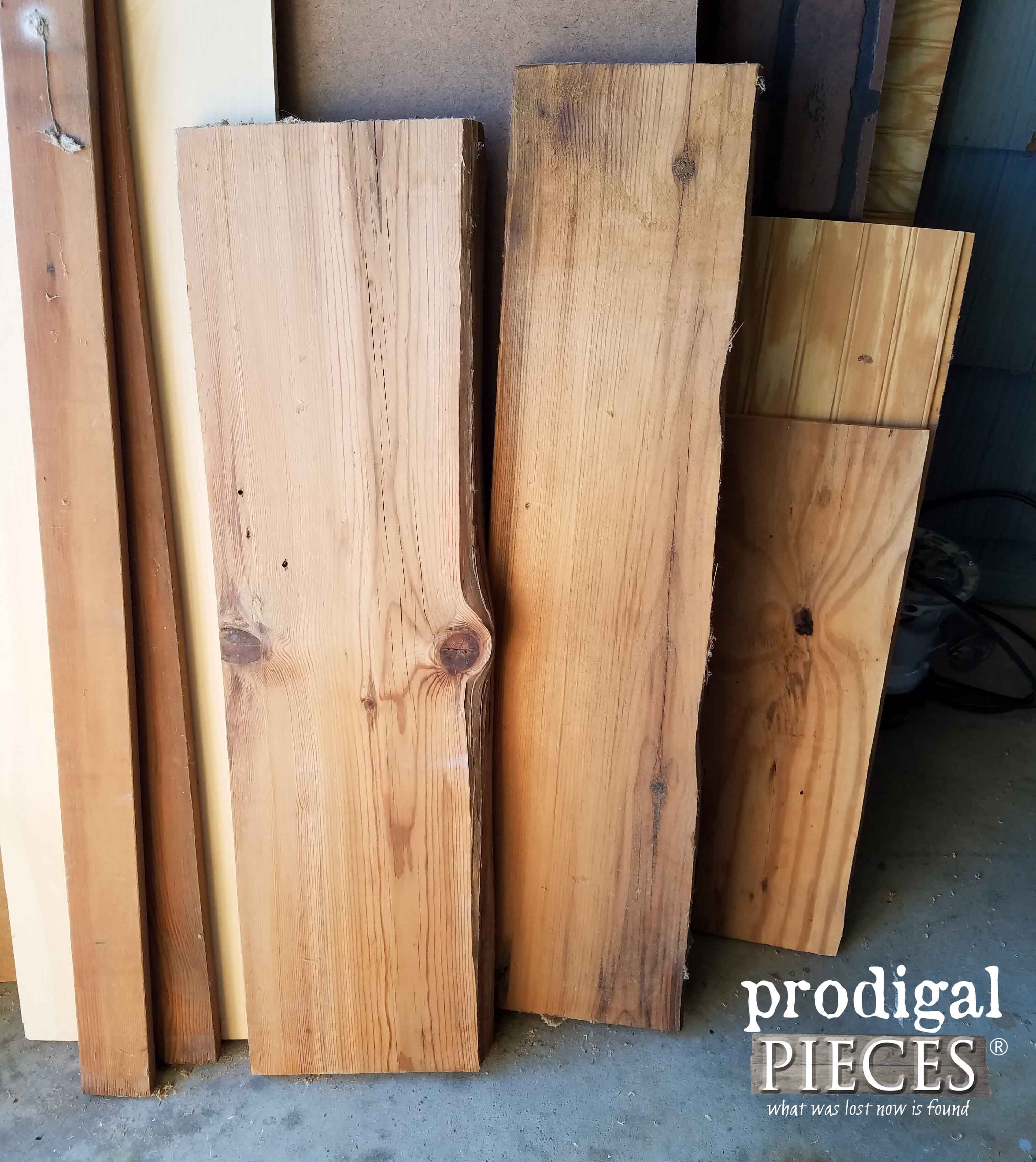 Reclaimed 1800's Pine for Kitchen Island Cart | Prodigal Pieces | prodigalpieces.com