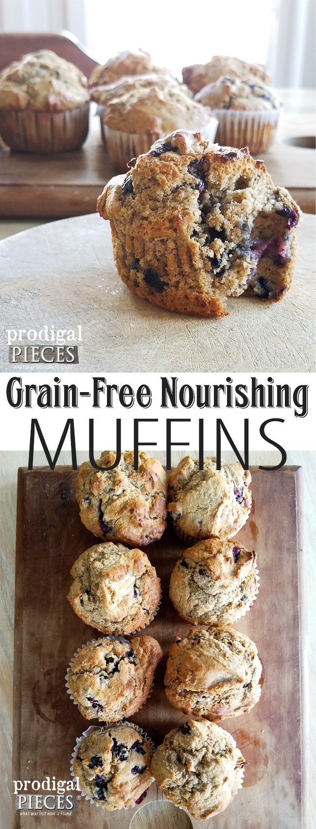 You can have your muffin and eat it too. Delicious grain-free muffin recipe from Prodigal Pieces | prodigalpieces.com