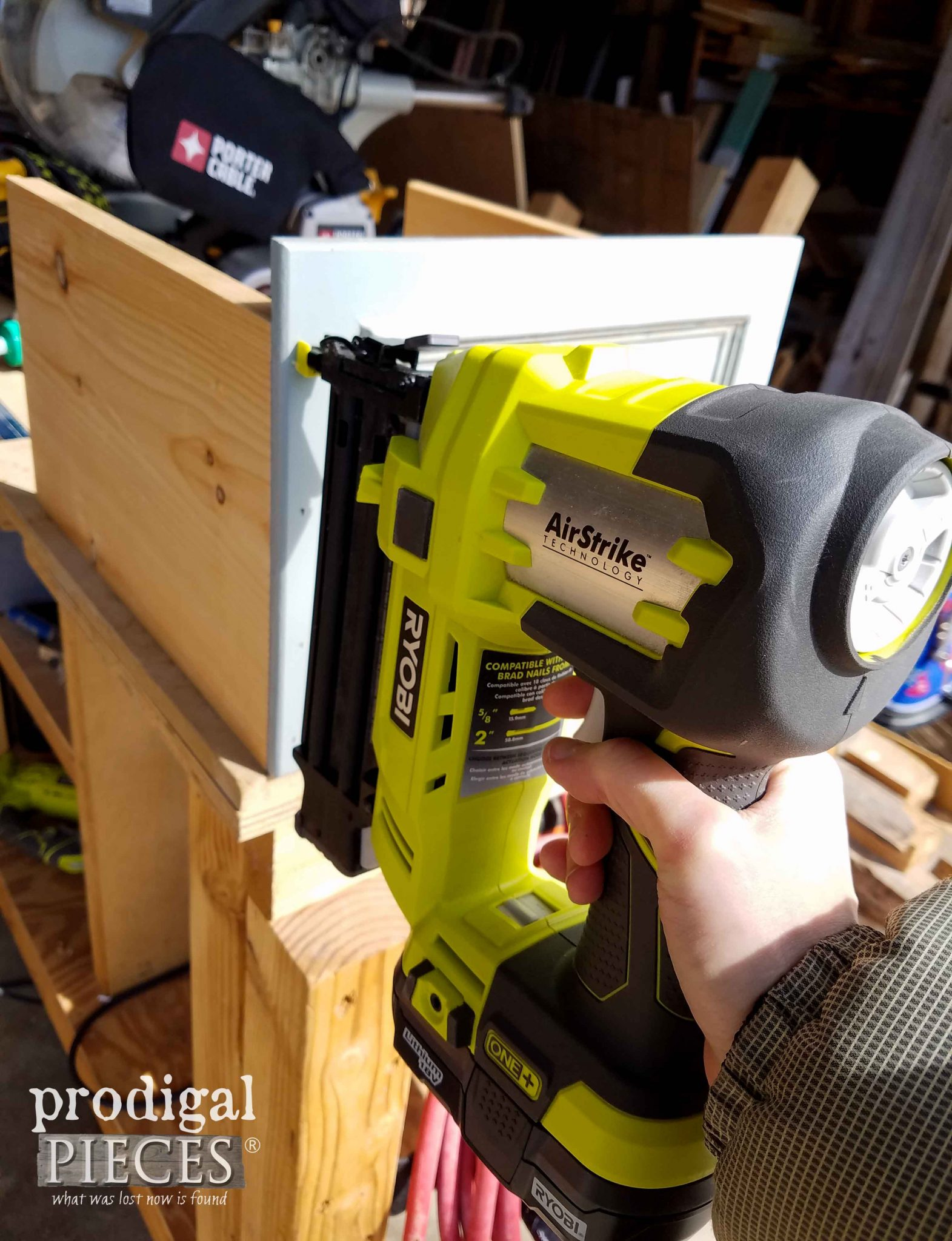 Using Ryboi AirStrike Nailer to Build DIY Storage | Prodigal Pieces | prodigalpieces.com