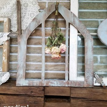 Rustic Arched Window Frame available at Prodigal Pieces | prodigalpieces.com