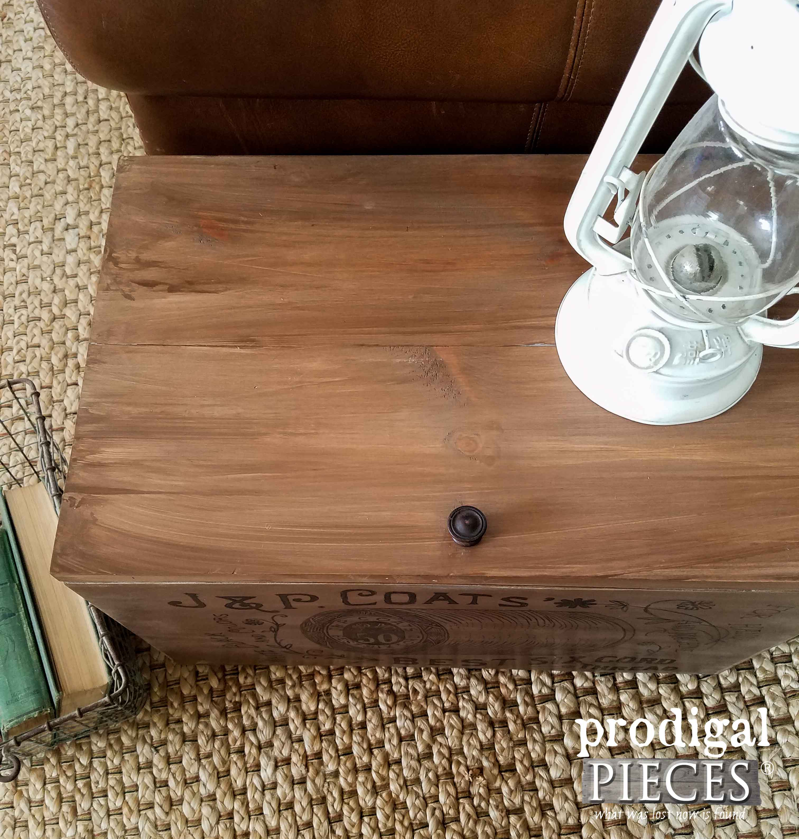 Upcycled Crate Made from Cabinet Doors by Prodigal Pieces | prodigalpieces.com
