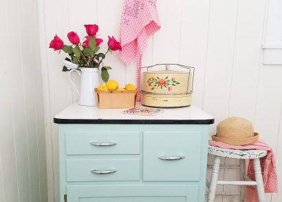 Featured Enamel Cabinet Makeover by Prodigal Pieces | prodigalpieces.com