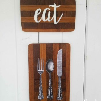 Cutting Board Kitchen Art by Prodigal Pieces | prodigalpieces.com