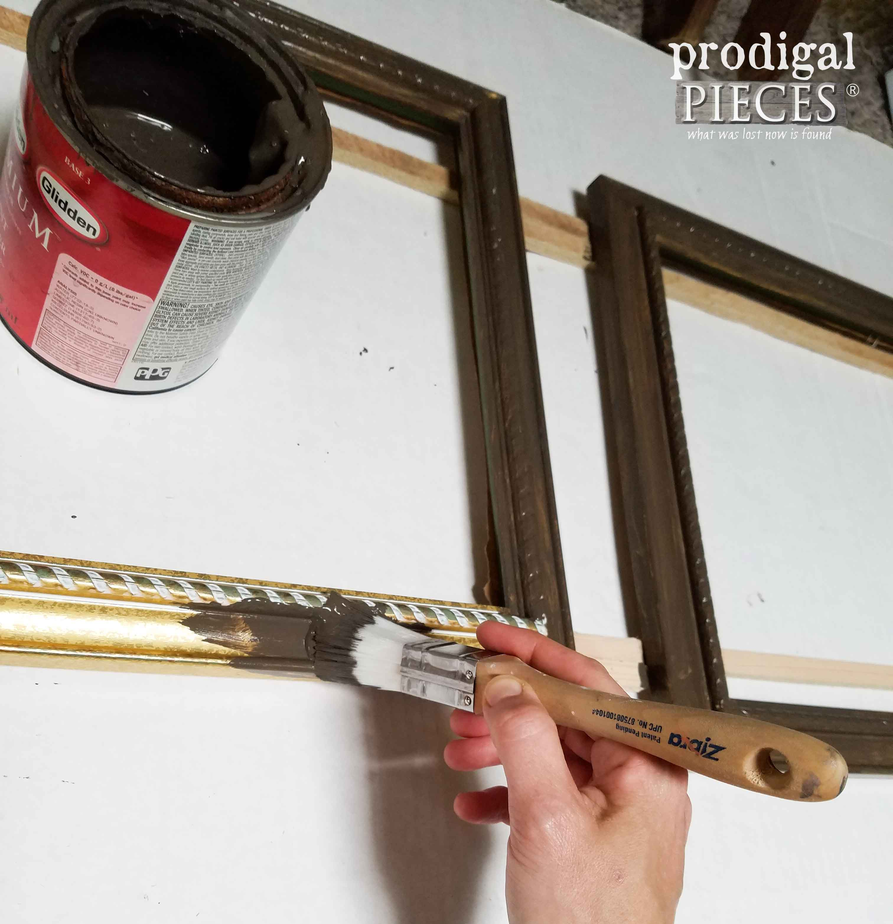 Painting Frames for Doily Art by Prodigal Pieces | prodigalpieces.com