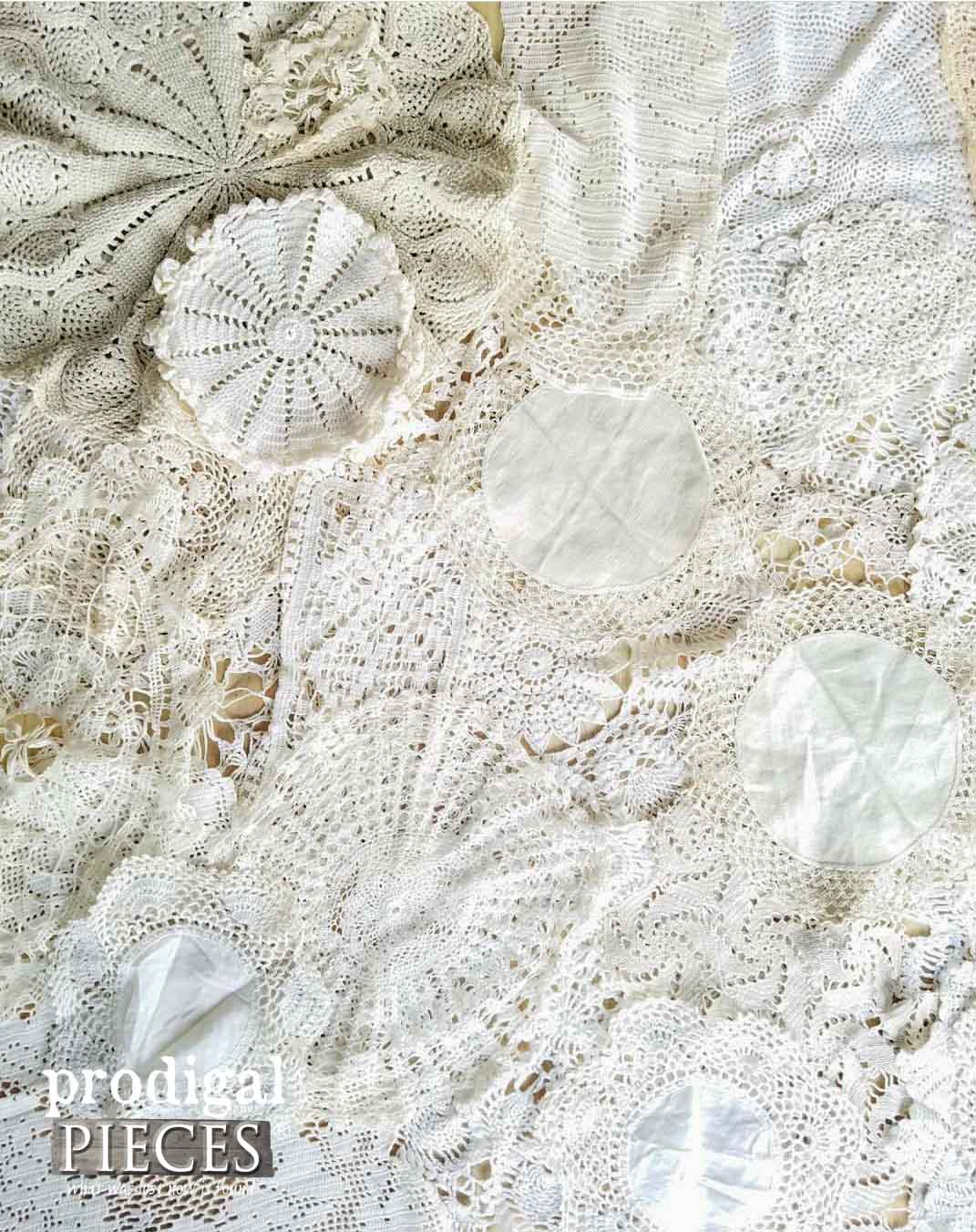 Collection of Vintage Doilies by Prodigal Pieces | prodigalpieces.com
