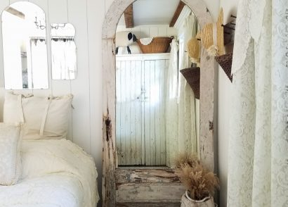 Featured Repurposed Door Mirror by Prodigal Pieces | prodigalpieces.com