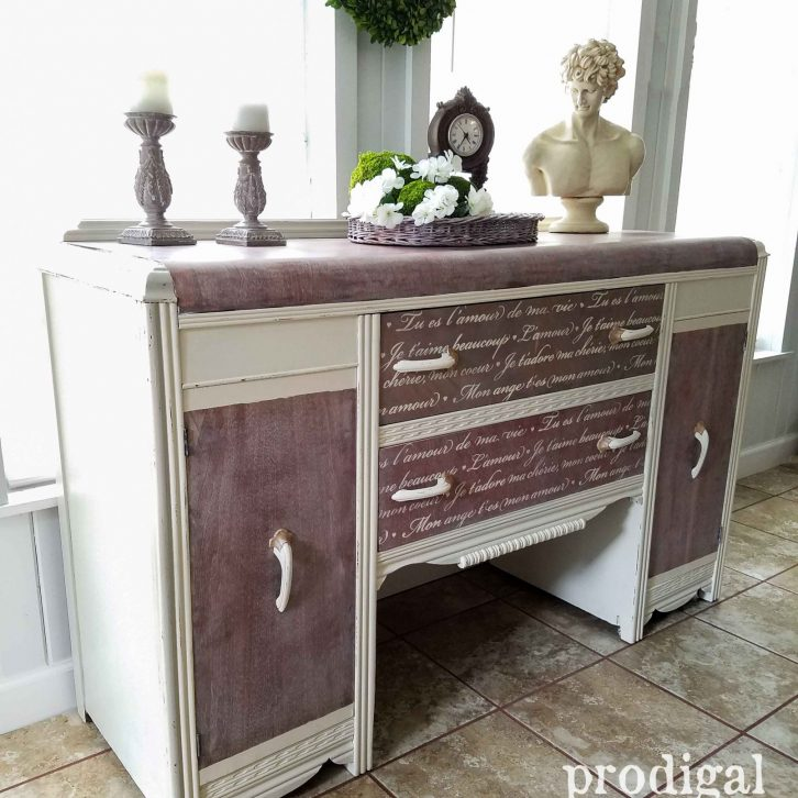 Antique Art Deco Waterfall Buffet Available at Prodigal Pieces | prodigalpieces.com