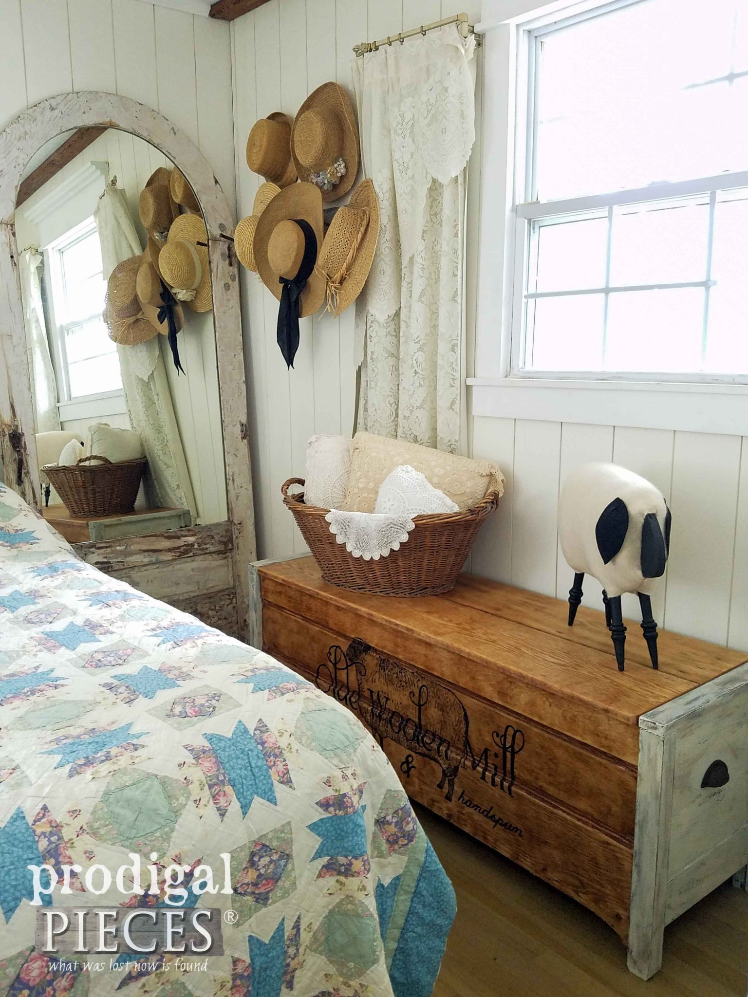 Farmhouse Bedroom by Prodigal Pieces | prodigalpieces.com