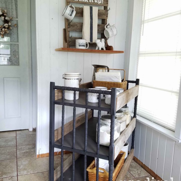 DIY Cart Made Using a Baby Changing Table by Prodigal Pieces | prodigalpieces.com