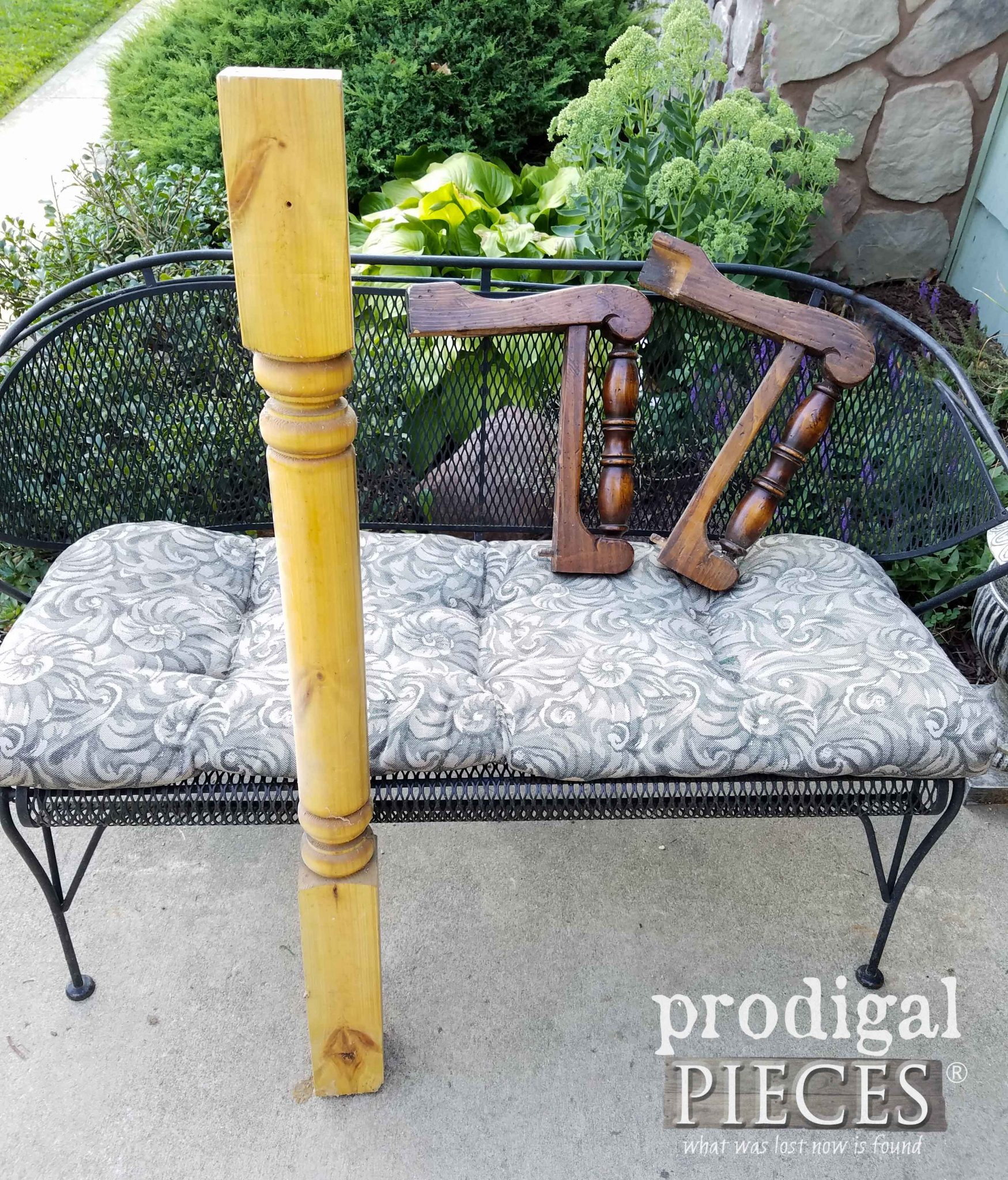 Reclaimed Wood Turnings Before | prodigalpieces.com