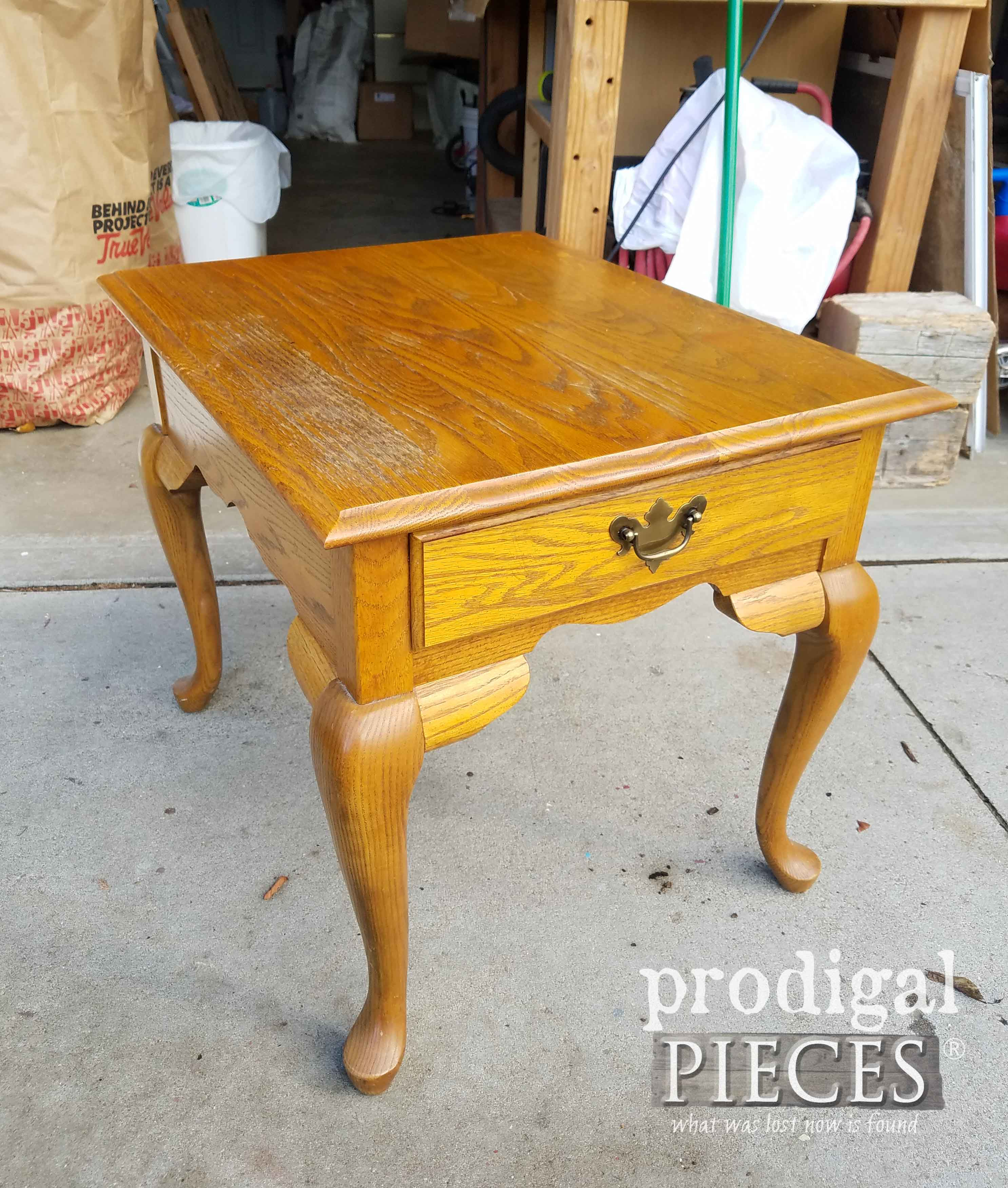 Thomasville Oval Coffee Table: What Was Lost, Now Is Found