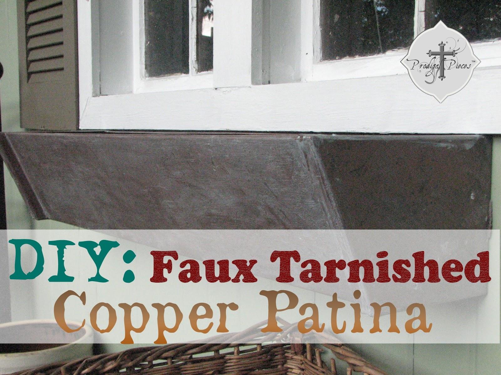 DIY Aged Copper Patina Tutorial Prodigal Pieces