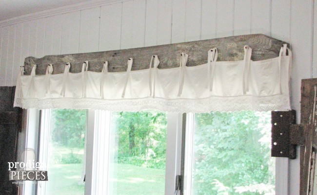Diy Barn Wood Amp Bedskirt Valance Prodigal Pieces