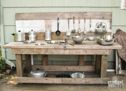 Build a Mud Bar Play Station out of Reclaimed Wood by Prodigal Pieces   www.prodigalpieces.com