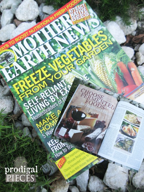 Mother Earth News Issue 2013 | prodigalpieces.com #prodigalpieces