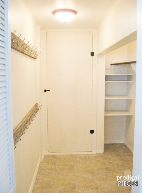 Mudroom Makeover with Barn Wood and Budget-Friendly Tips by Prodigal Pieces | prodigalpieces.com