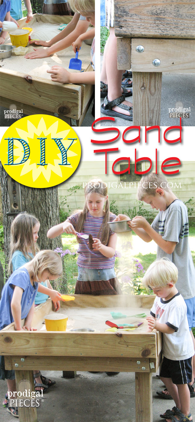 DIY Sensory Fun Sand Table by Prodigal Pieces | prodigalpieces.com