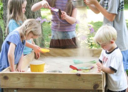DIY Sensory Fun Sand Table by Prodigal Pieces | www.prodigalpieces.com