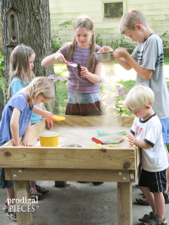 Diy Sensory Fun Sand Table By Prodigal Pieces Www Prodigalpieces