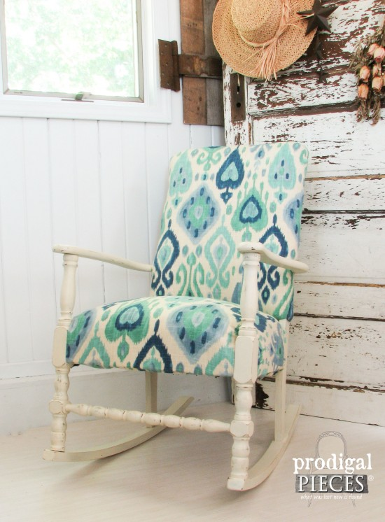 Ikat Art Deco Rocking Chair by Prodigal Pieces | www.prodigalpieces.com