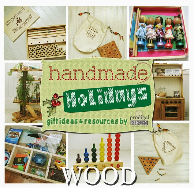 Get your Christmas DIY on with these fun wooden gift ideas from the Handmade Holidays gift ideas by Prodigal Pieces www.prodigalpieces.com #prodigalpieces