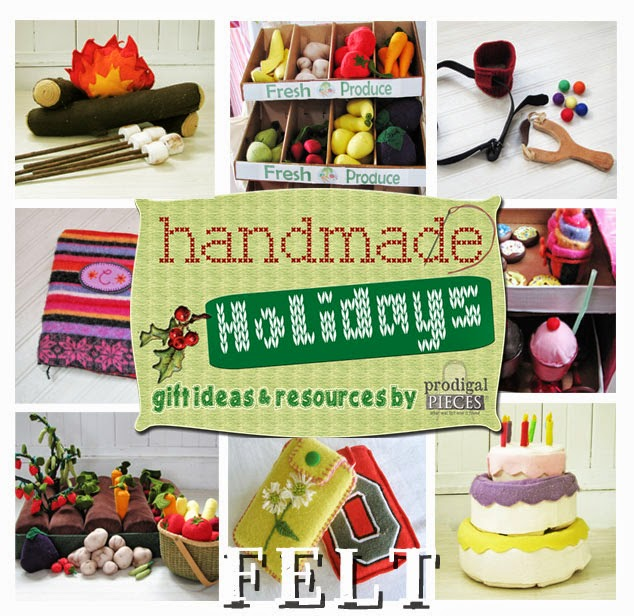 Get your Christmas gifts done DIY style with these Handmade Holidays gift ideas using felt by Prodigal Pieces | prodigalpieces.com #prodigalpieces