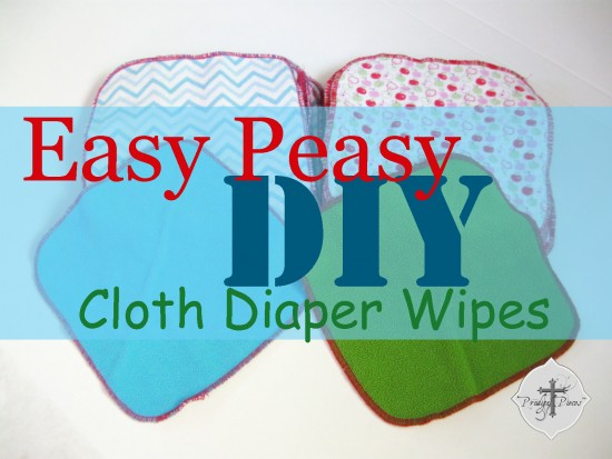 Easy Peasy DIY Cloth Diaper Wipes Tutorial by Prodigal PIeces www.prodigalpieces.com #prodigalpieces