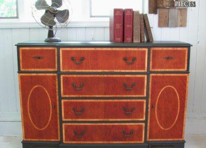 Vintage Bureau Makeover | Prodigal Pieces | www.prodigalpieces.com