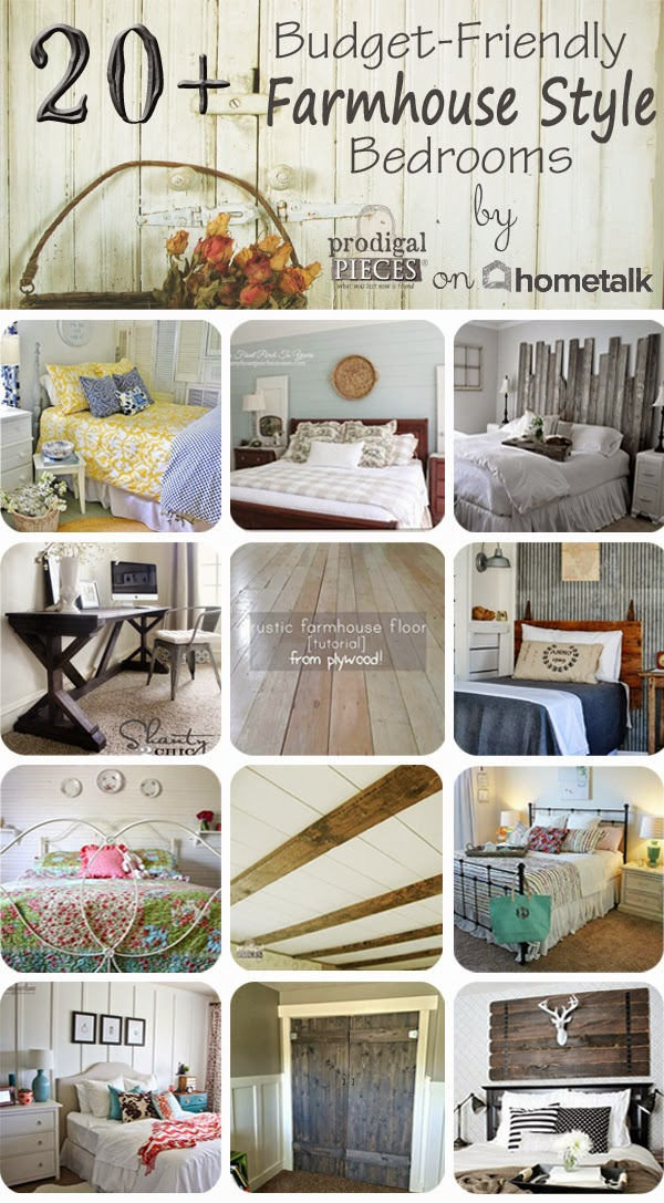 20+ Budget-Friendly Farmhouse Style Bedrooms - Prodigal Pieces