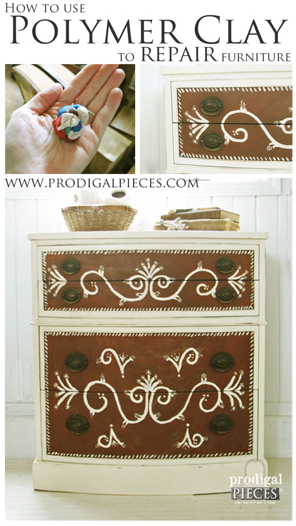 Repair Furniture With Polymer Clay Prodigal Pieces