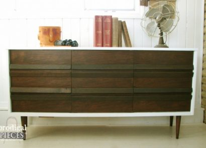 Mid Century Modern Score at Goodwill Gets Makeover by Prodigal Pieces www.prodigalpieces.com #prodigalpieces
