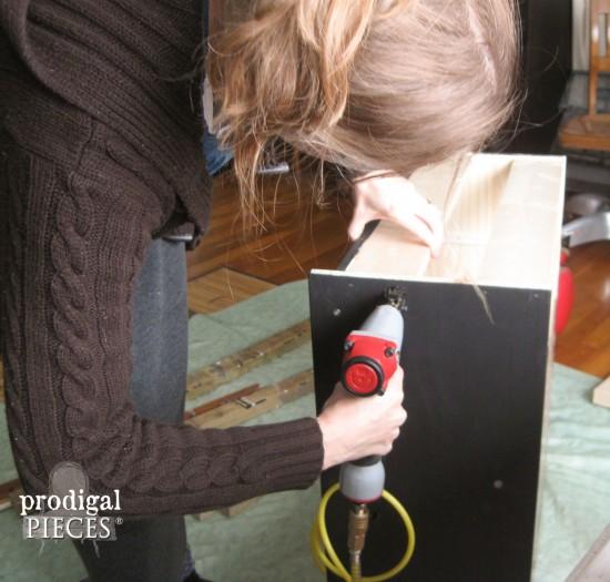 Nailing Side of Dresser | prodigalpieces.com