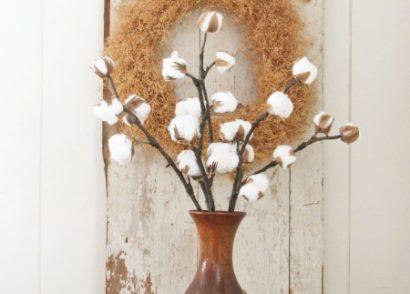 DIY Farmhouse Cotton Branches by Prodigal Pieces www.prodigalpieces.com #prodigalpieces