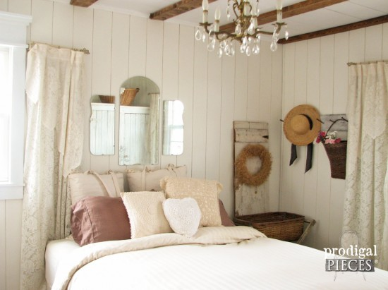 #5 of Top 10 Projects 2015 ~ Budget-Friendly French Farmhouse Master Bedroom Makeover | Prodigal Pieces | prodigalpieces.com