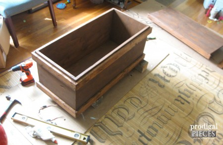 Assembled Chest with Stain | prodigalpieces.com
