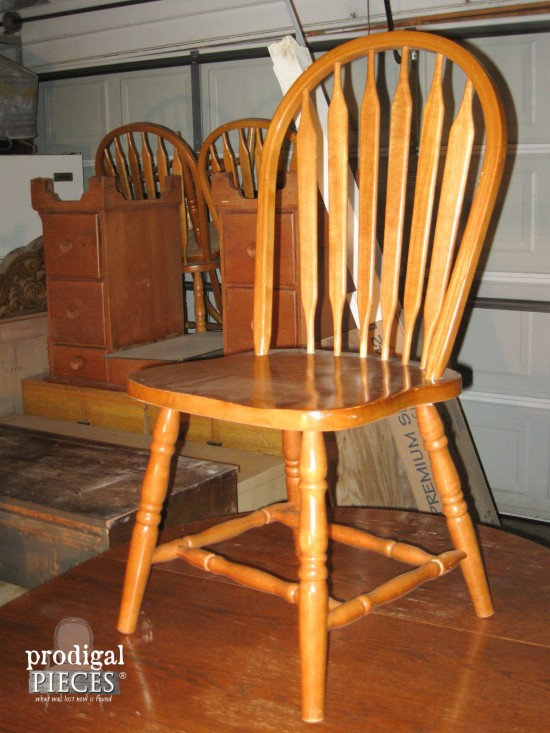 Farmhouse Dining Chairs Before | prodigalpieces.com