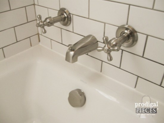 Lovely Vintage Style Bathroom Plumbing Fixtures by eFaucets on Prodigal Pieces prodigalpieces