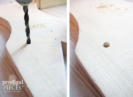 Wood Plugs to Cover Screws | prodigalpieces.com