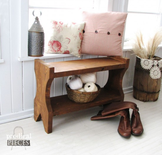 Wooden Bench Build Plans by Prodigal Pieces | prodigalpieces.com