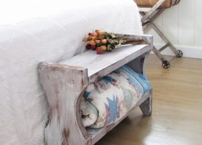 Build A Farmhouse Bench for Less than $20 - DIY Tutorial by Prodigal Pieces www.prodigalpieces.com #prodigalpieces