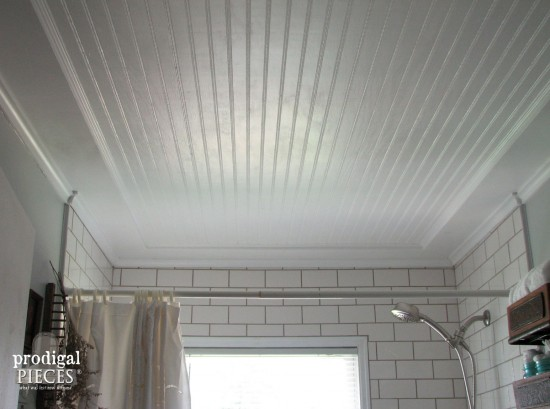 Perfect Beadboard Ceiling View